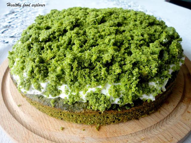 Zdrowe ciasto ze szpinakiem