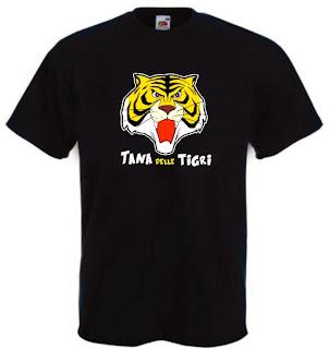 Maglietta uomo tigre