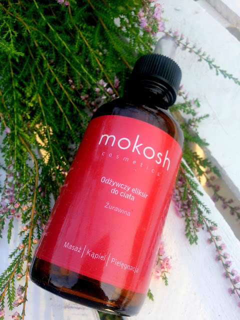 Mokosh, Odżywczy eliksir do ciała, Żurawina