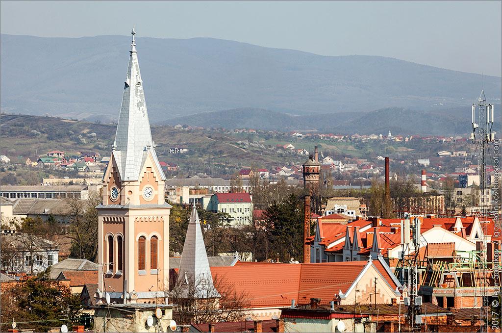 что посмотреть в Мукачево достопримечательности собор Святого Мартина часы