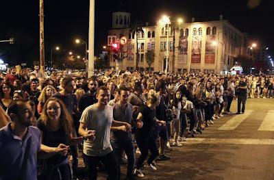 Χιλιάδες Πόντιοι περικύκλωσαν τη ΔΕΘ και χόρεψαν ομάλ για γκίνες