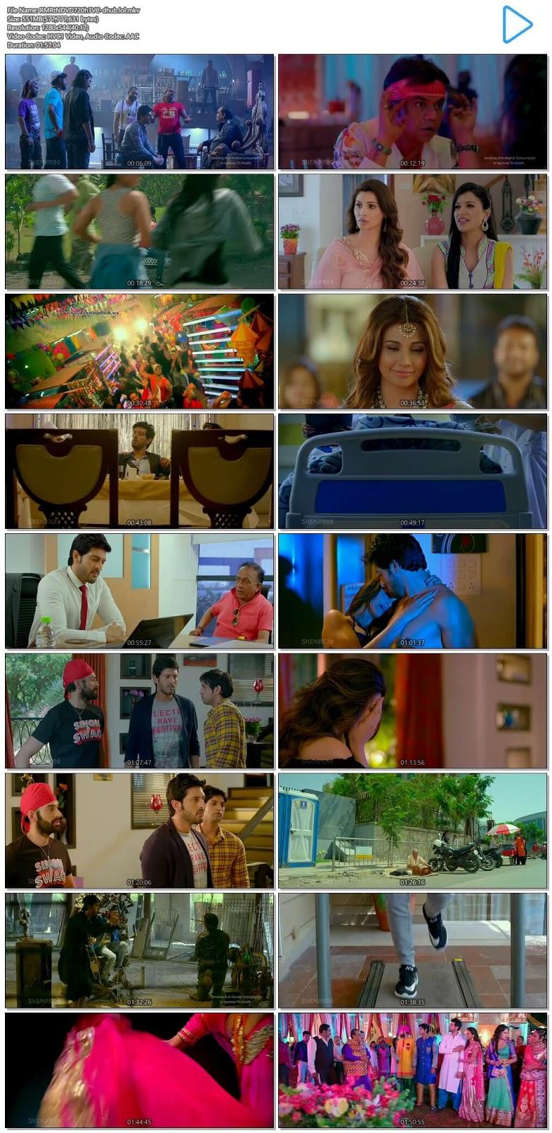 Ram Ratan 2017 Hindi 720p HEVC DVDRip