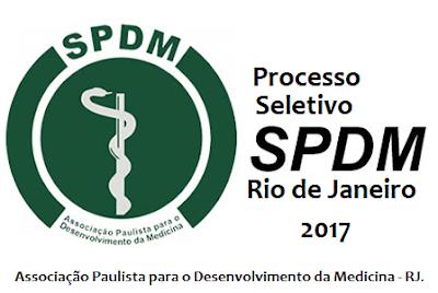 Apostila Processo Seletivo SPDM RJ 2017