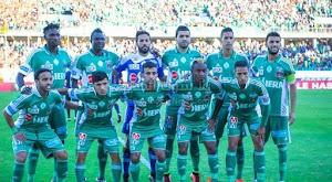 الرجاء يعود بالفوز على مولودية الجزائر في ذهاب ربع نهائي البطولة العربية للأندية