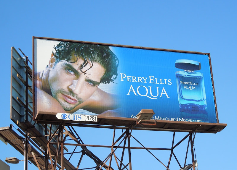 Perry Ellis Aqua billboard