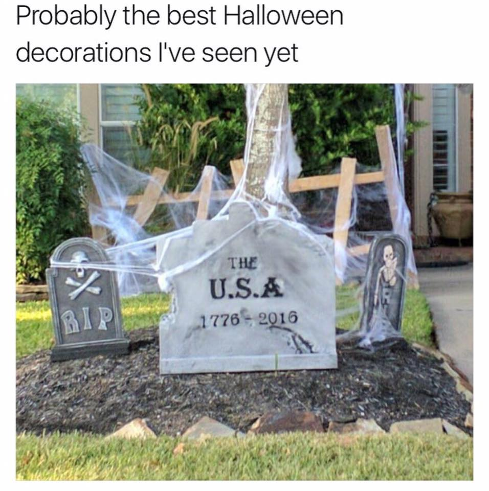 USA tombstone