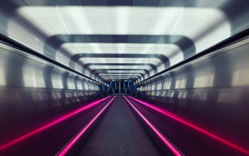 Wallpaper: Oslo Subway Tunnel