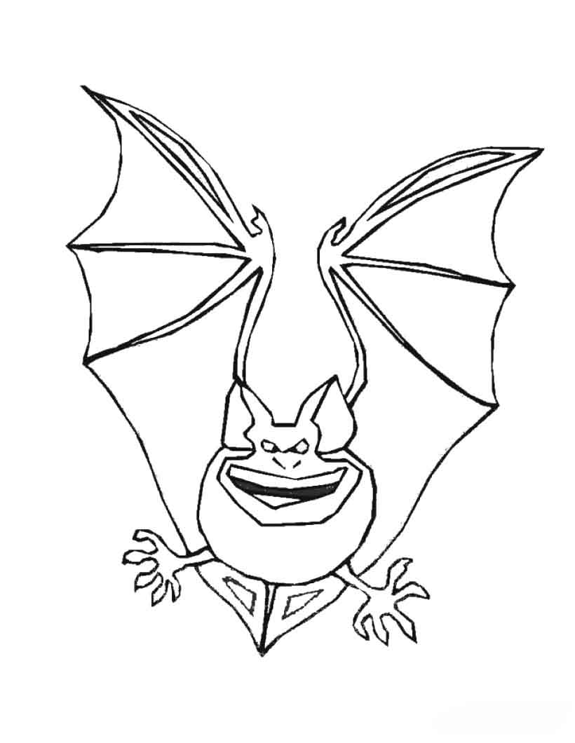 cute halloween bat coloring pages car pictures