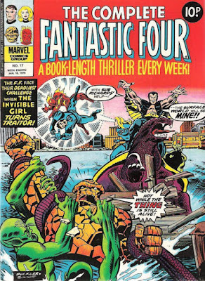 Complete Fantastic Four #17, the Sub-Mariner