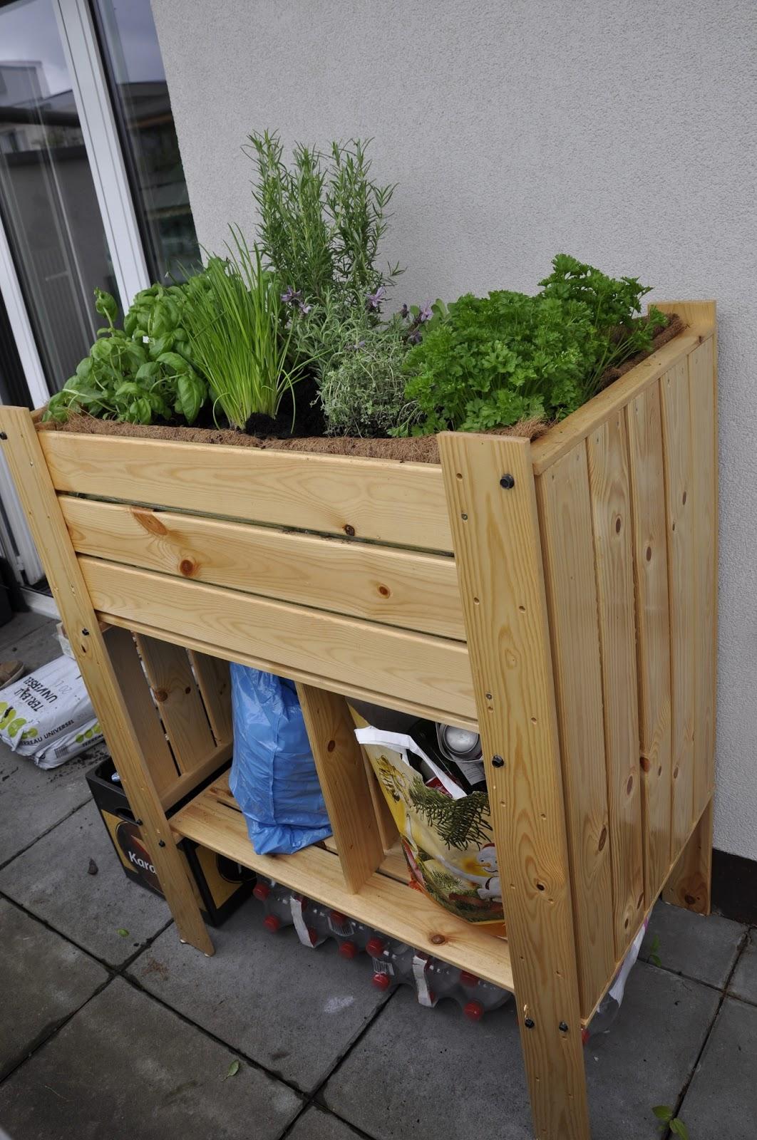 Hochbeet Ikea Askholmen Flower Box Grey Brown Stained Ikea