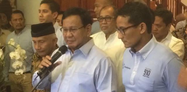 Dilaporkan Farhat Ke Polisi, Prabowo: Bahkan Menurut Dia Saya Akan Ke Neraka