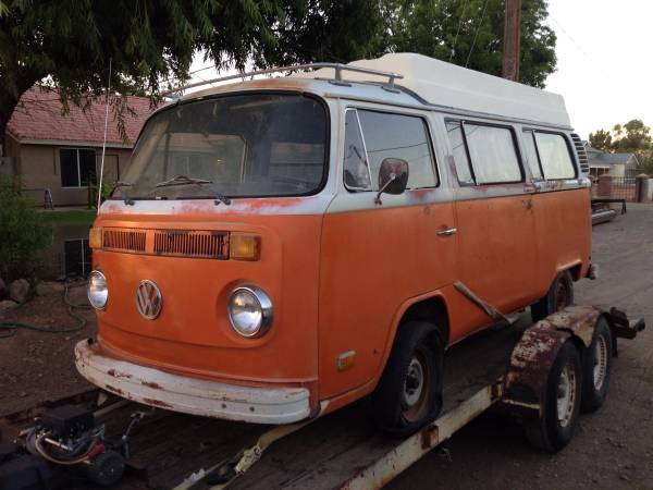 Rare Project, 1973 VW Sportmobile Camper