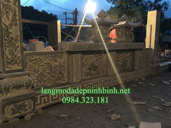 Bình phong bằng đá tại Hà Nội