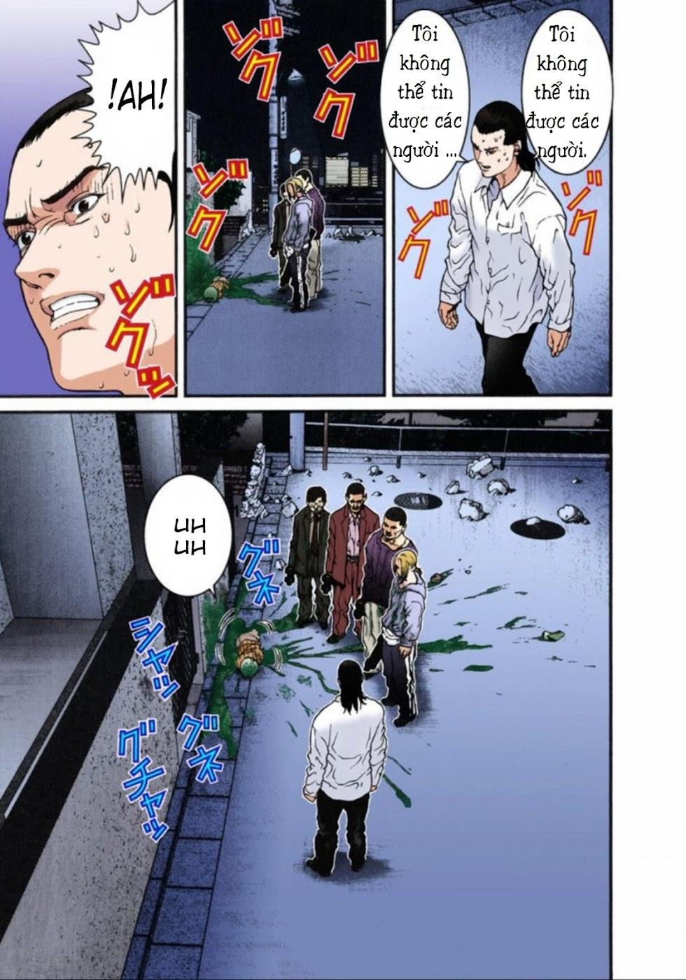 Gantz Chap 08: Tàn sát trang 9