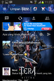 BBM Mod Tera Online v2.13.1.14 Apk Terbaru