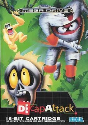 Rom de Decap Attack - Mega Drive em PT-BR