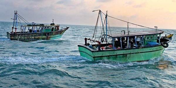12 Indian fishermen arrested in Jaffna