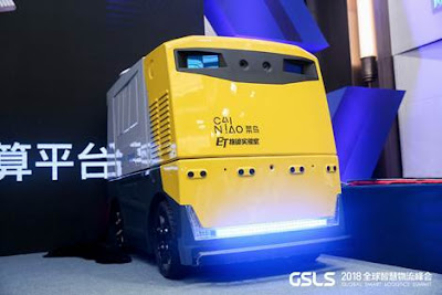 El vehicle de transport sense conductor G Plus inclou tecnologia LiDAR