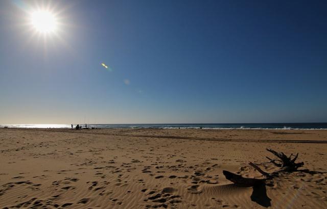 Playa del Parque Humedal iSimangaliso en Santa Lucia