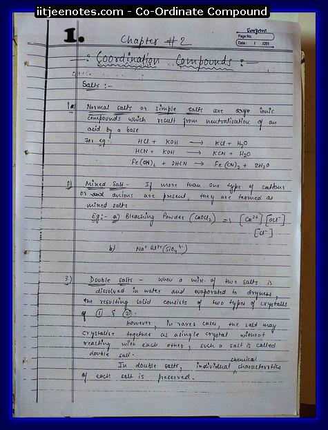 coordinate compound1
