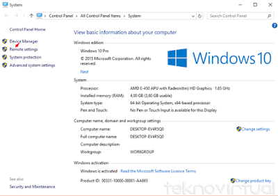 Cara Mudah Update Driver Windows 10