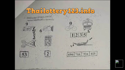Thai Lottery 2nd Second Paper Full Magazine Tips 16 September 2018