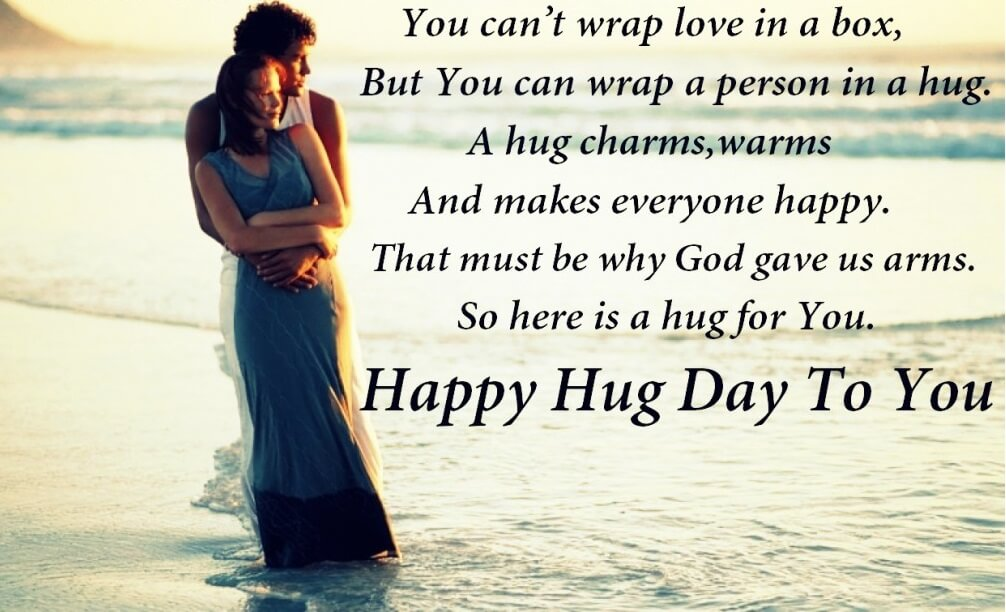 Hug Day Quotes Wishes SMS Images