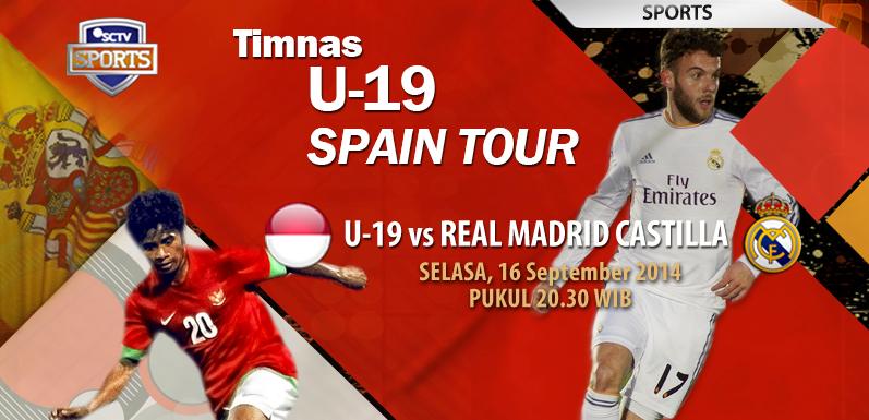 Hasil Skor Akhir Timnas Indonesia U 19 Vs Real Madrid C