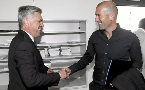 Zidane Dan Ancelotti Kembali Saingan