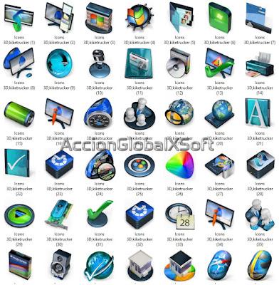 Coleccion Iconos 3D