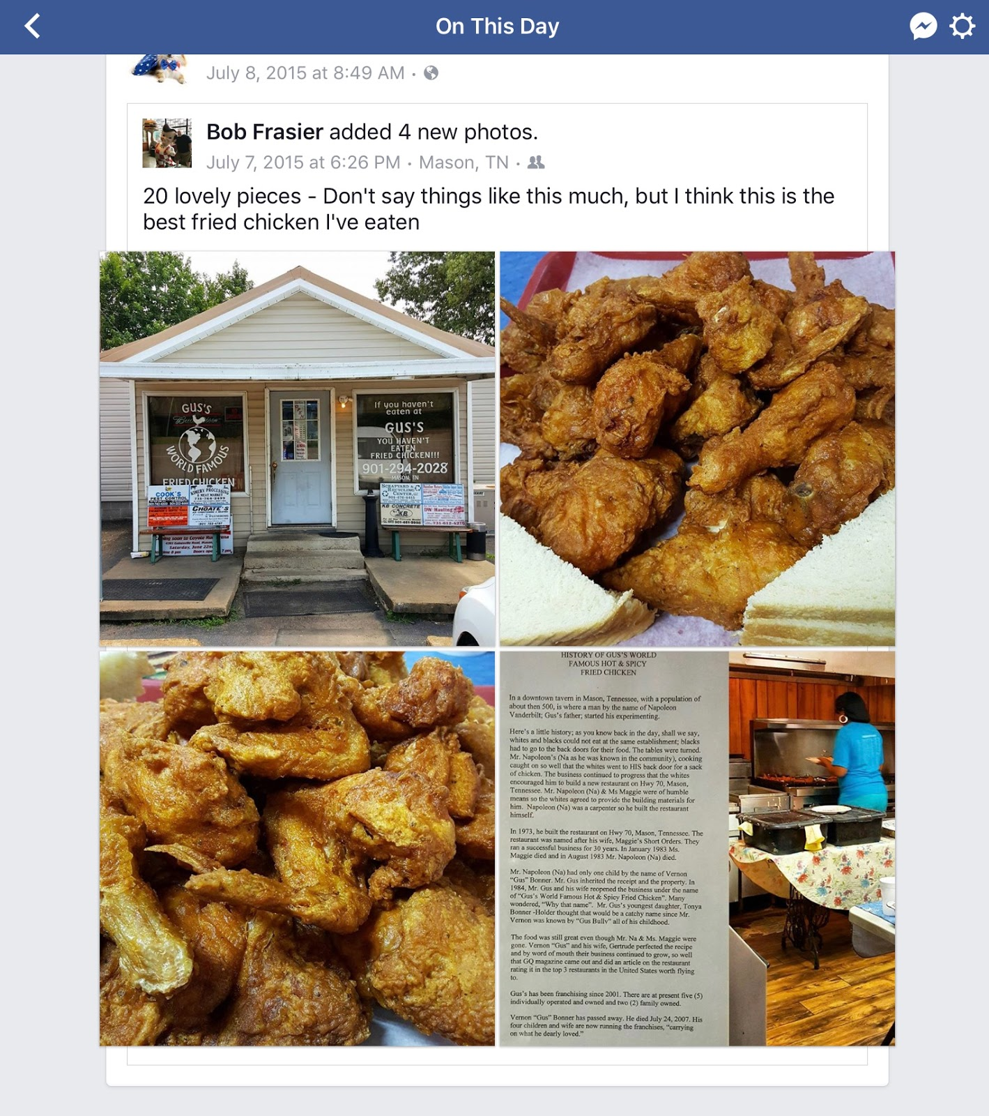 The fried chicken blog guss fried chicken recipe the best guss fried chicken recipe the best duplication so far of the guss recipe forumfinder Images