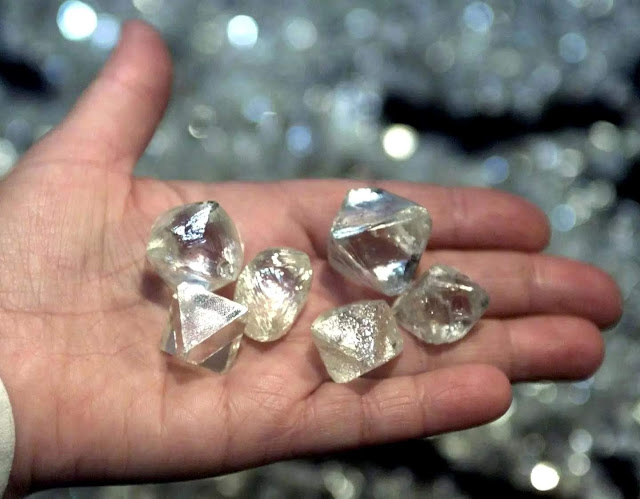 A Quadrillion Tons of Diamond. Under Your Feet
