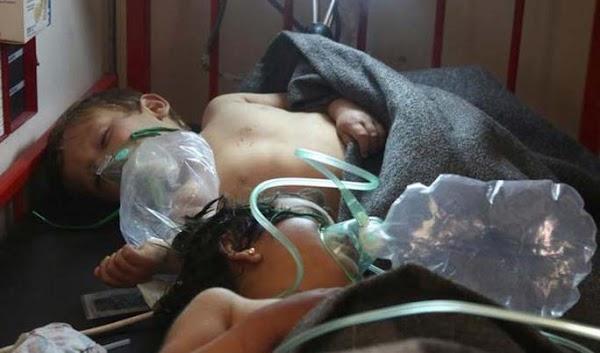 El ataque a siria fue químico y aéreo