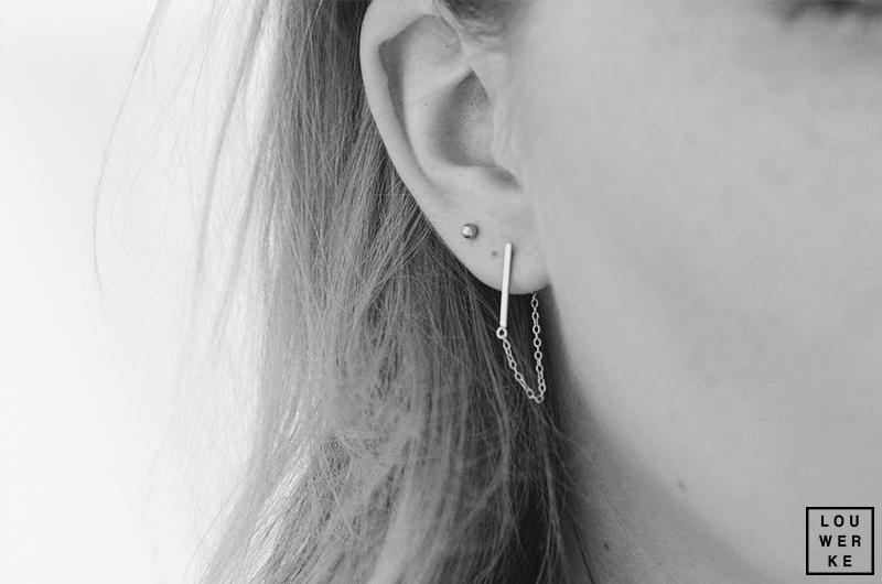 Minimalistische Oorbellen Zilver : Jorine s life trend minimalistische oorbellen