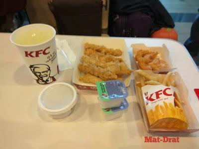 Makan di Airport Kota Kinabalu
