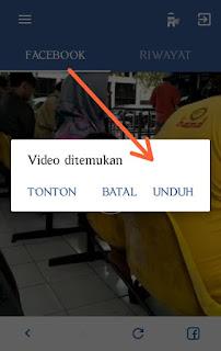 Downloader facebook video apk
