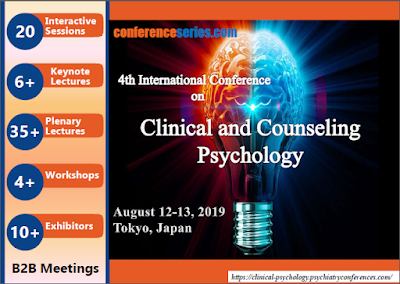 Conference August 4th Keynoted By >> 4th International Conference On Clinical And Counseling Psychology