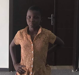 Photo: Police in Anambra seeks information to locate family of a young girl who can