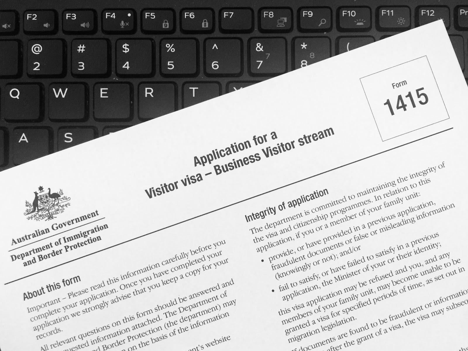 how to apply for australia travel visa