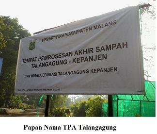 Wisata edukasi TPA Talangagung