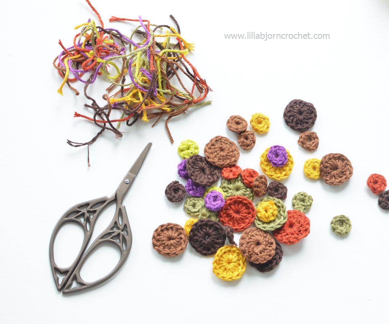 How to weave in yarn tails in crochet