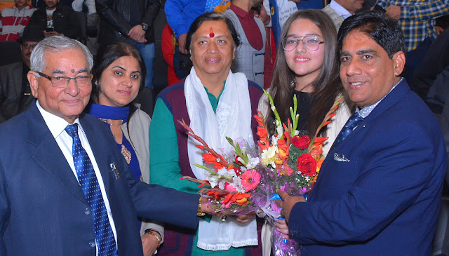 """On the release of the short film """"Durga"""", MLA Seema Tricha said daughters born in destined ones are daughters"""