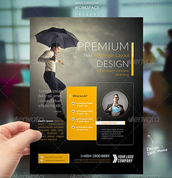 corporate flyer template free