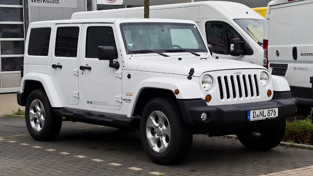 Soft Top Jeep Wrangler 4 Door