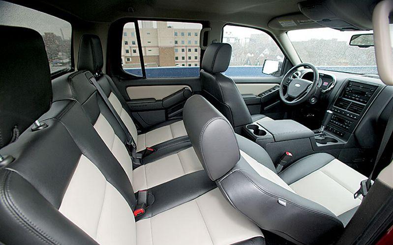 Ford cars 2007 ford explorer sport trac - Ford explorer sport trac interior ...