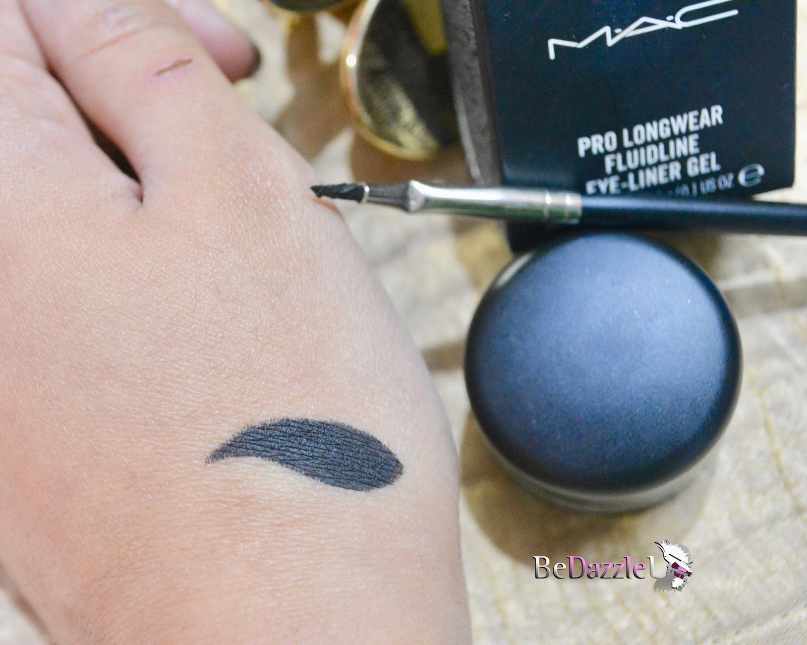 MAC Fluidline Gel Liner Blacktrack