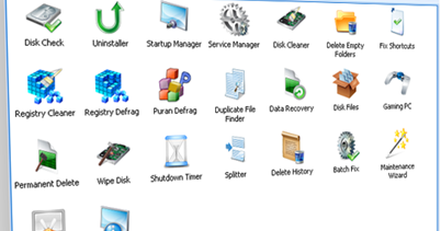 Puran Utility- free to download package of 20 plus useful utilities