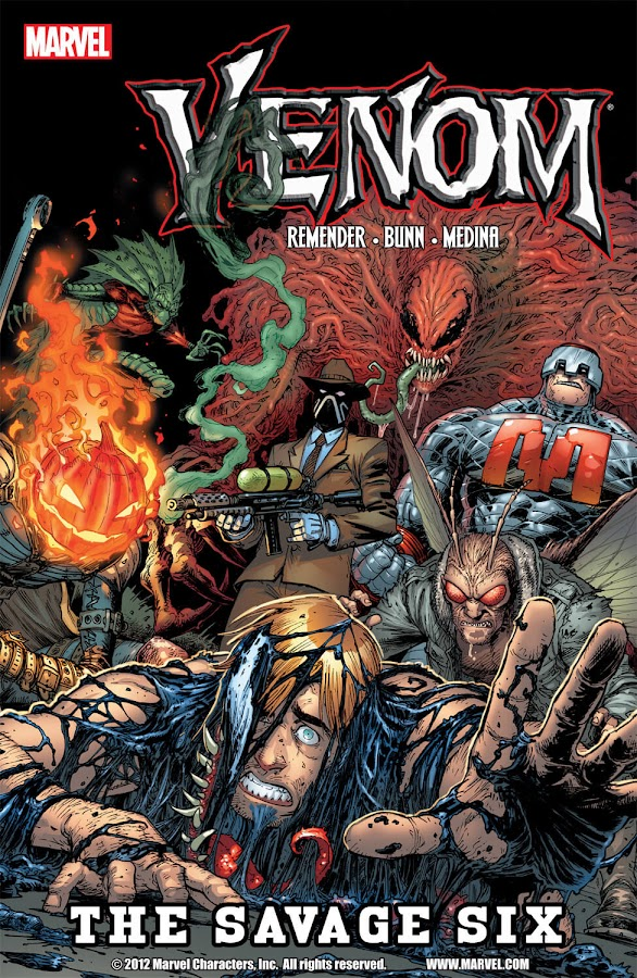 venom savage six marvel comics