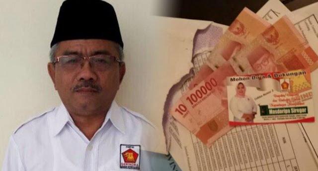 Wakil Bupati Kena OTT Money Politics, Diduga Untuk Menangkan Caleg Gerindra dan Prabowo-Sandi