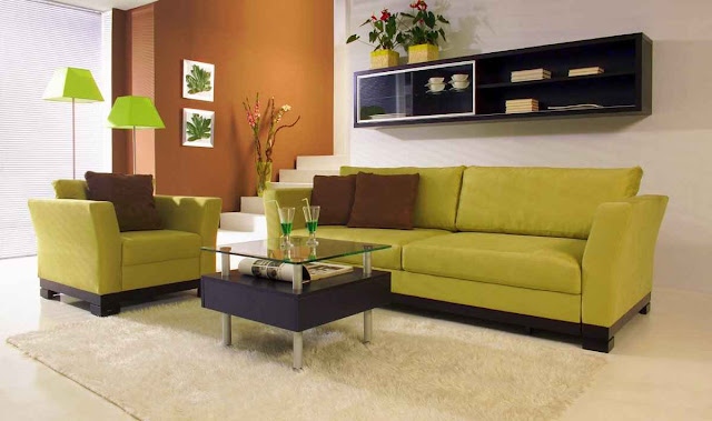 How To make Black and Green Living Rooms